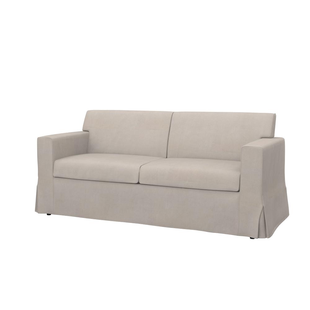 bezug f r ikea sandby 3 er sofa 59 stoffe farben und muster soferia ebay. Black Bedroom Furniture Sets. Home Design Ideas