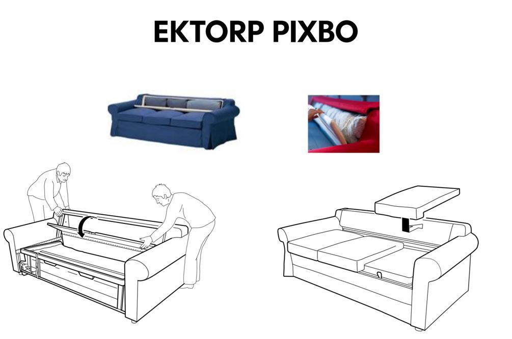 Divano Letto 2 Posti Ektorp.Divano Letto Ektorp A 3 Posti Quale Modello Soferia Fodere Per Mobili Ikea